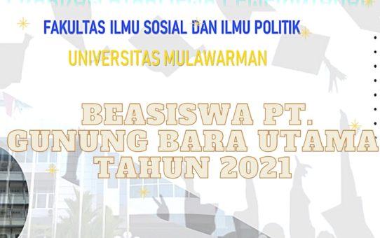 Penawaran Program Beasiswa PT. Gunung Bara Utama Tahun 2021