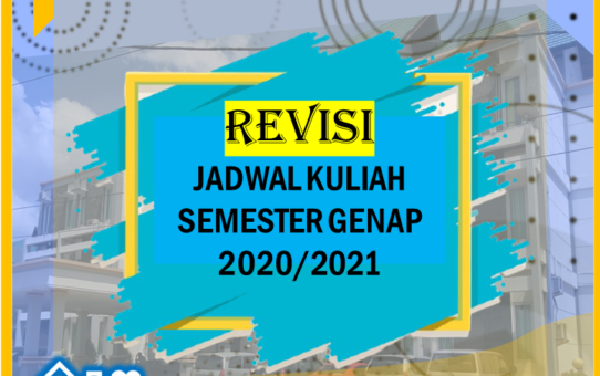Revisi Jadwal Mata Kuliah Ilmu PemerintahSemester Genap TA 2020/2021